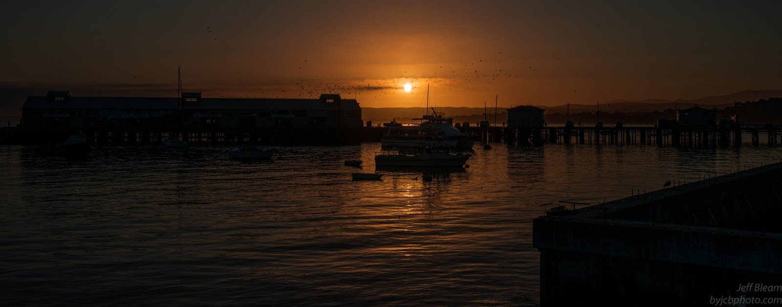Monterey Harbor copyright Jeff Bleam